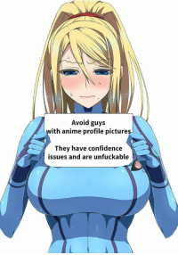 Funny Anime Profile Pictures : funny, anime, profile, pictures, Avoid, Anime, Profile, Pictures, Confidence, Issues, Unfuckable, ME.ME