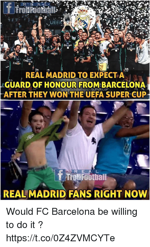 Barcelona Memes And Real Madrid To Emiot  Real Madrid To Expecta Guard