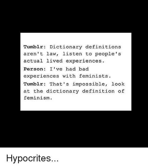 tumblr dictionary definitions aren