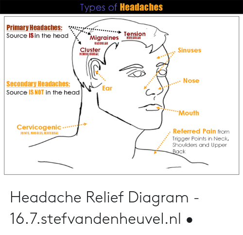 types of headaches he