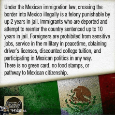Image result for mexican immigration law