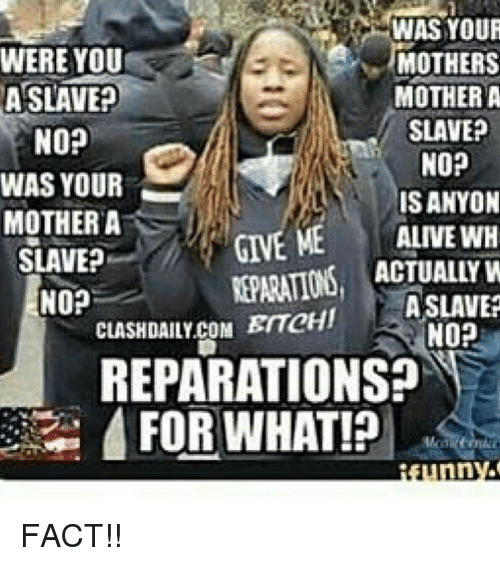 Image result for reparations memes