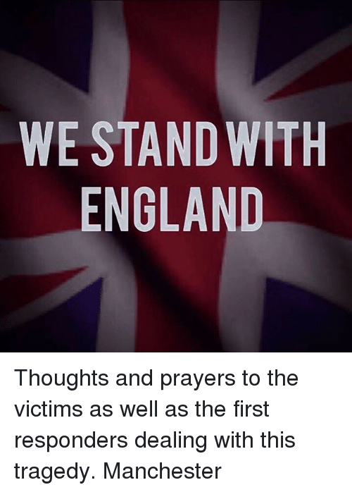 we stand with england