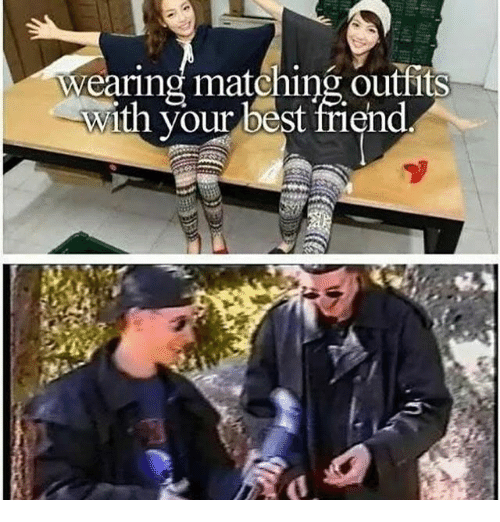 matching outfits with your