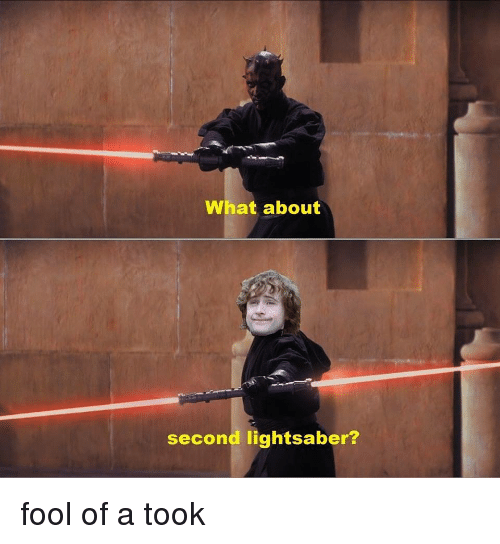 what about second lightsaber