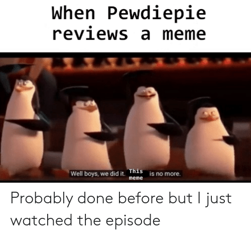 when pewdiepie reviews a