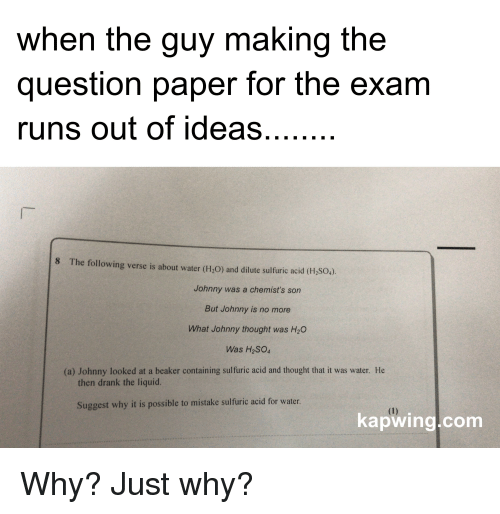 when the guy making