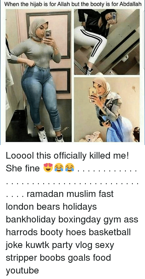 Ass Basketball And Booty When The Hijab Is For Allah But The Booty