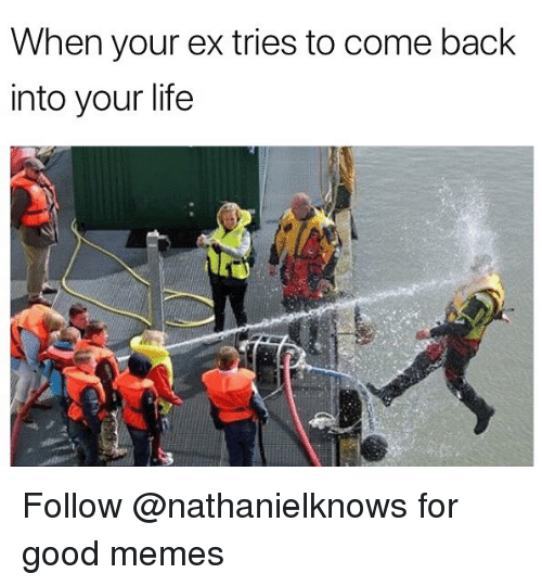 25+ Best Memes About When Your Ex Tries to Come Back ...