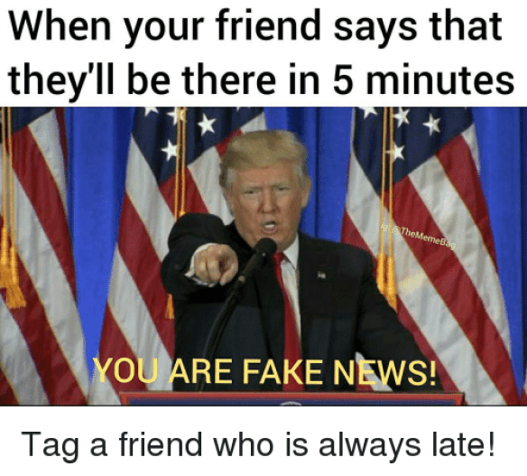Image result for friend being late memes