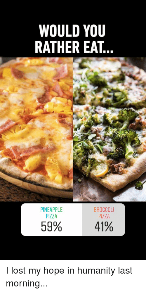 Pineapple On Pizza Meme : pineapple, pizza, Pineapple, Pizza
