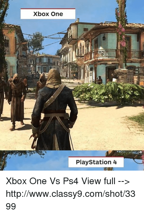 Ps4 Vs Xbox One Meme : Download, Better