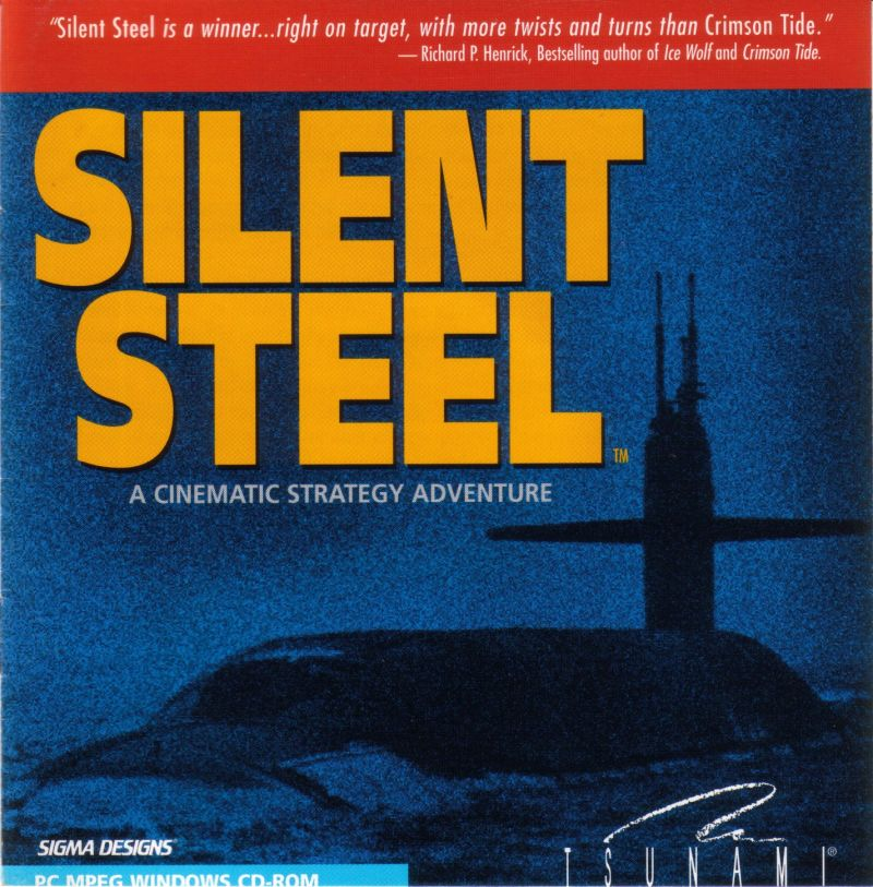 Silent Steel Windows 3.x Front Cover