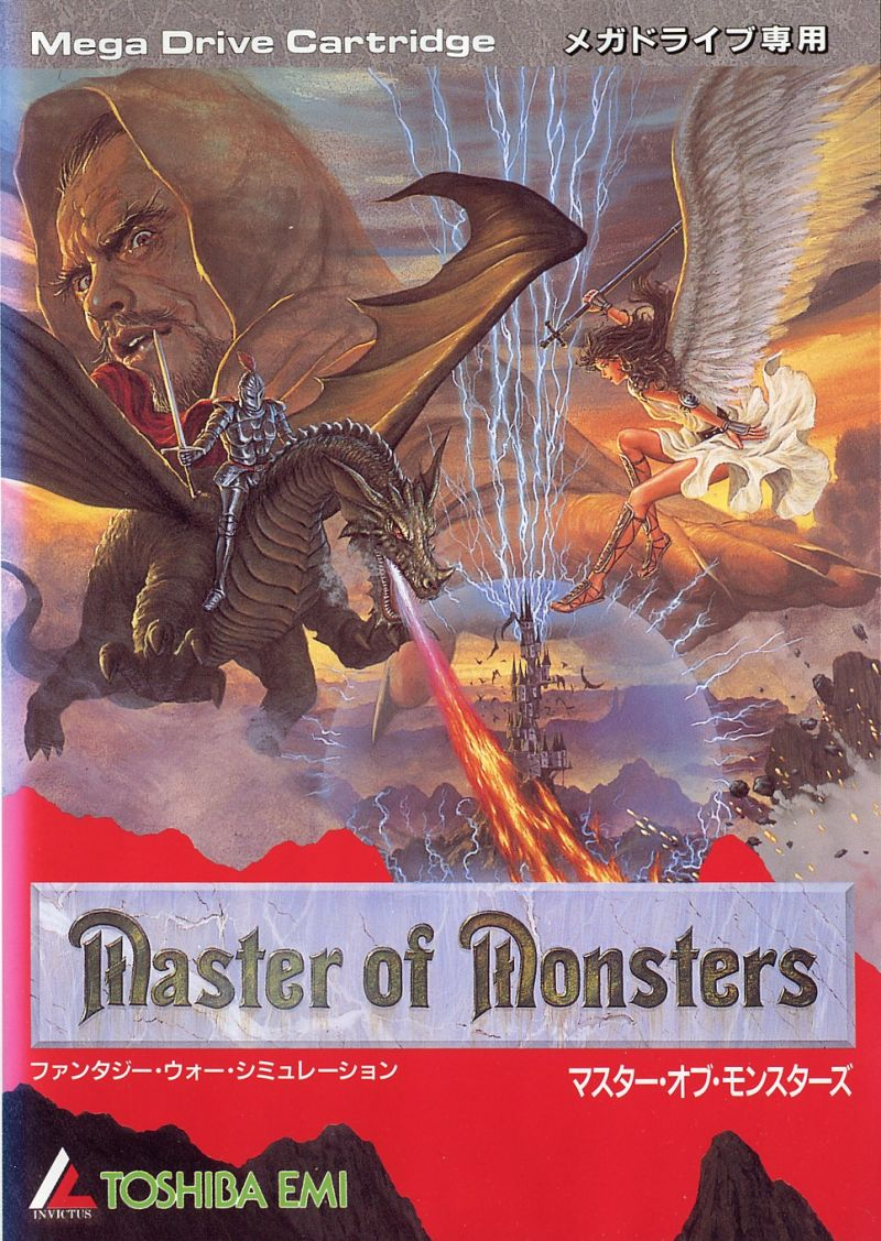 Master of Monsters - Cover