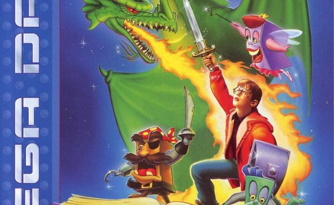 The Pagemaster 1994 Genesis Box Cover Art Mobygames
