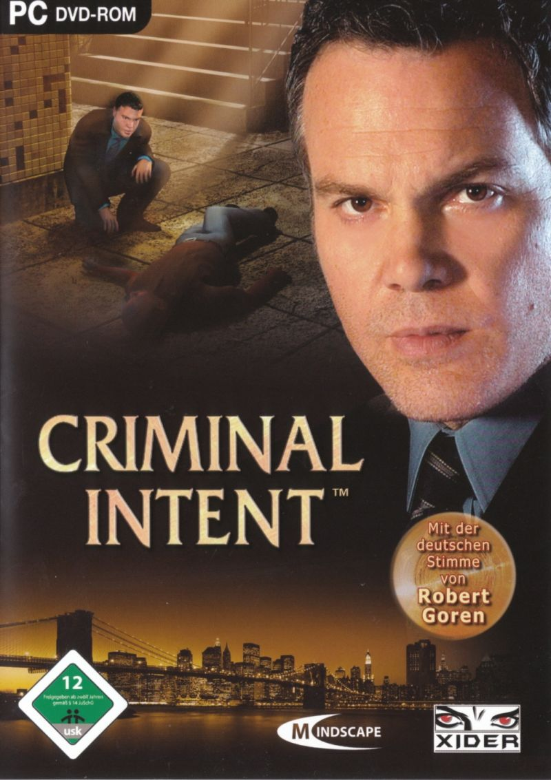 Law & Order: Criminal Intent Windows Front Cover