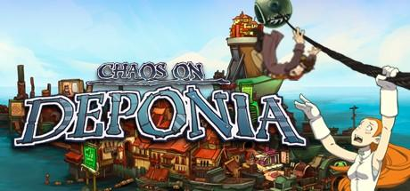 Chaos on Deponia Macintosh Front Cover