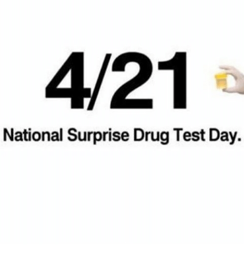 25+ Best Memes About National Surprise Drug Test Day