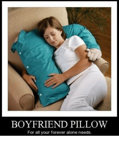 BOYFRIEND PILLOW for All Your Forever Alone Needs