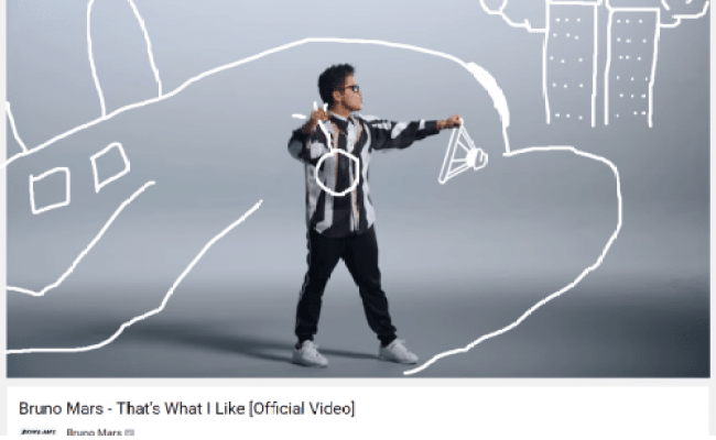 Bruno Mars That S What I Like Official Video Bruno Mars