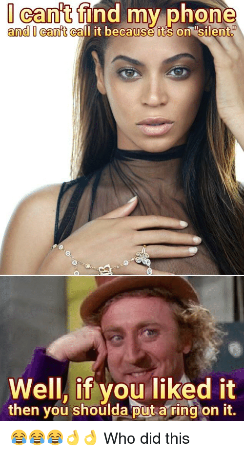 Put A Ring On It Meme : Memes, About, Liked, Shoulda