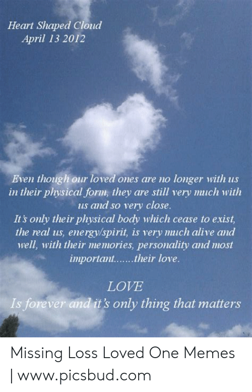 Missing A Loved One Meme : missing, loved, Loved, Quotes
