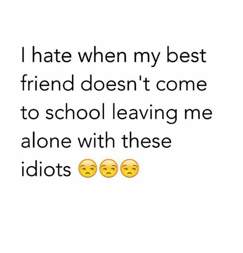 Funny Best Friend and School Memes of 2017 on SIZZLE