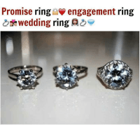 Promise Ring Engagement Ring Wedding Ring AS ...
