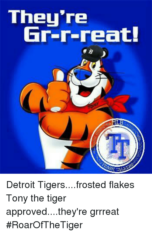Flakes Frosted Tiger Meme