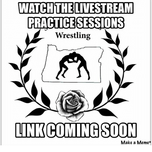 WATCH THE LIVESTREAM PRACTICE SESSIONS Wrestling LINK