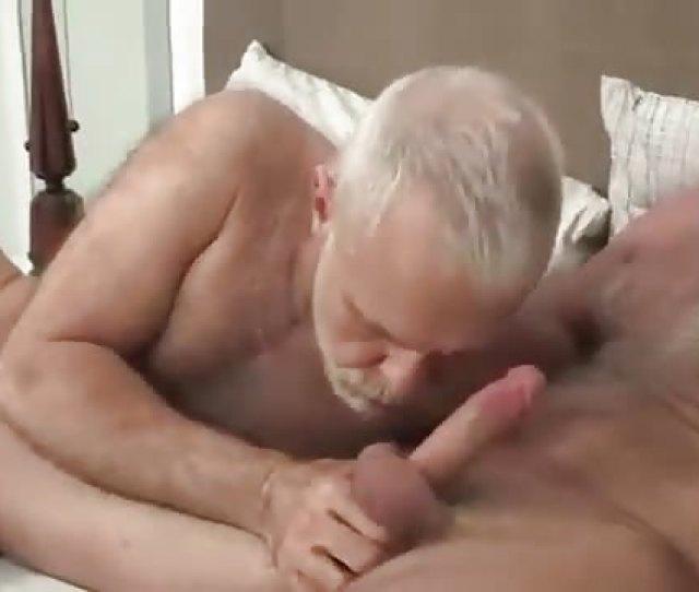 Silver Daddies Having Some Fun Together