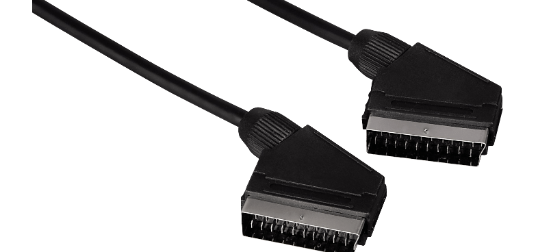 HAMA Scart Connection Cable, plug - plug, 5 m, black - (11953)