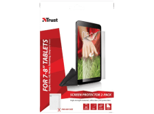 """TRUST Universal Screen Protector 2 pack for 7-8"""" tablets - (19939)"""
