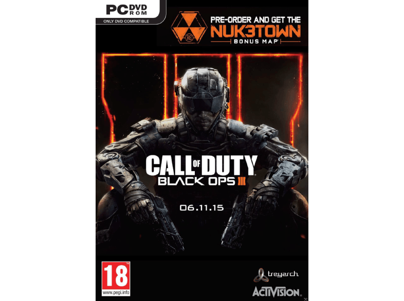 ACTIVISION SW Call of Duty: Black Ops III