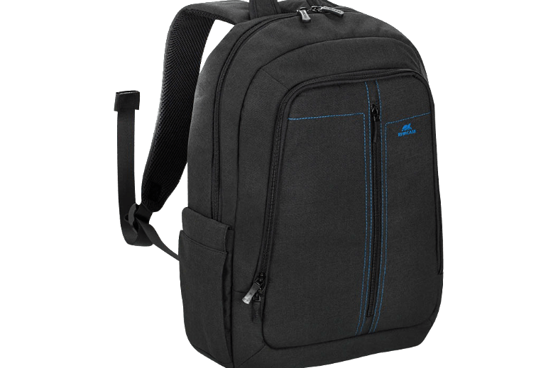 RIVACASE 7560 Laptop Canvas Backpack 15.6 Black
