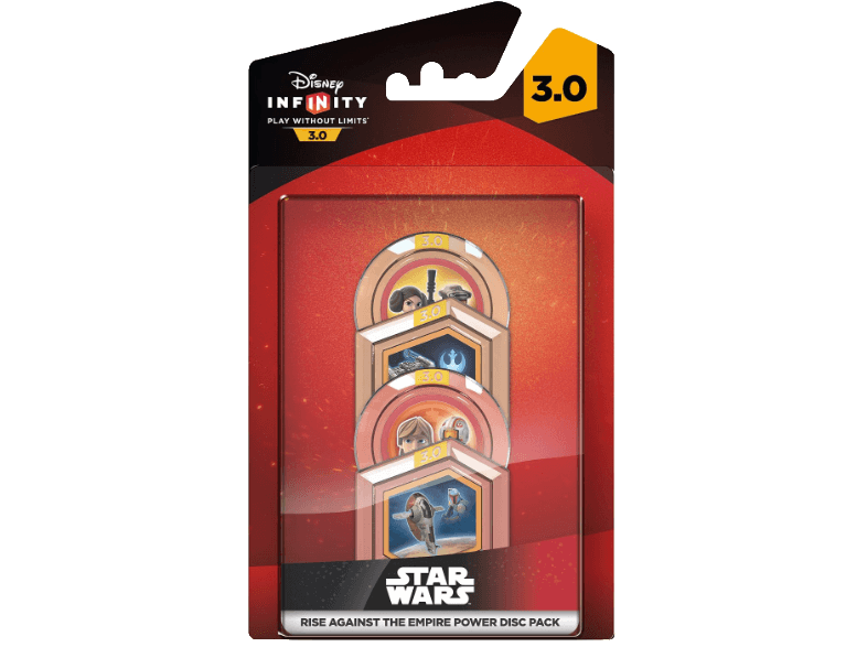 DISNEY Infinity 3.0 - Star Wars Rise Against The Empire Power Disc Pack