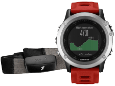 GARMIN Fenix 3 Performer Bundle Silver - (010-01338-16)
