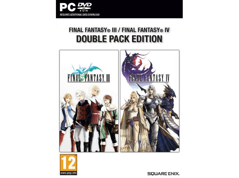 SQUARE ENIX Final Fantasy III και ΙV Double Pack Edition
