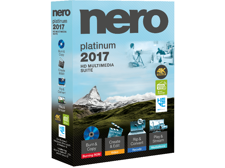 AMY Nero 2017 Platinum GR