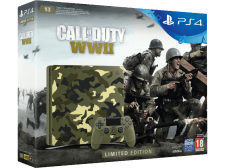 SONY PS4 1TB E Chassis Limited Edition + Call of Duty: WWII Bundle