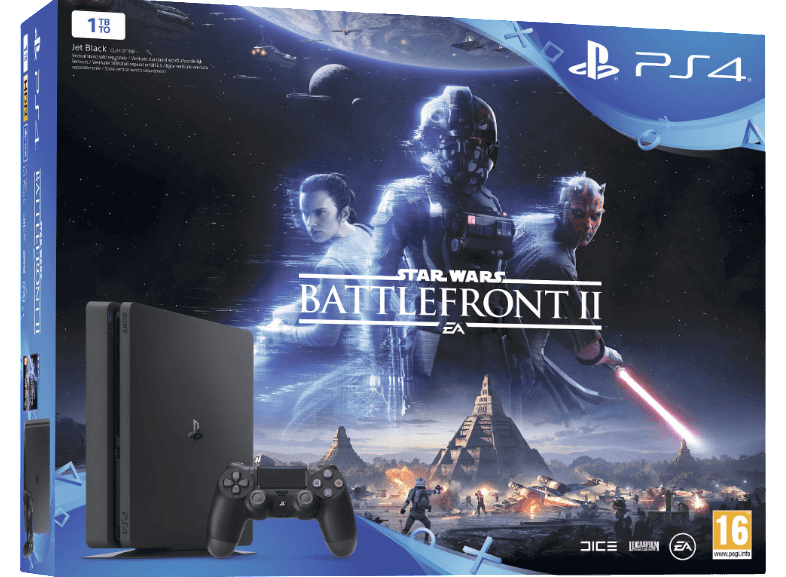 SONY PS4 1ΤΒ E Chassis+ Star Wars Battlefront II