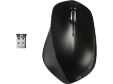 HP X 4500 Wireless Mouse Sparkling Black