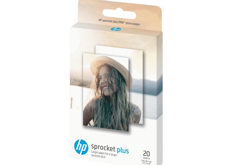 HP ΖΙΝΚ 5.8 x 8.6 cm Sticky- Backed Photo Paper (2LY72A)