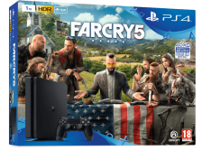 SONY PlayStation 4 1ΤΒ E Chassis + Far Cry 5