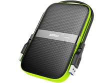 SILICON-POWER Armor A60 1TB – Shock Proof, Water Resistant (IPX4)