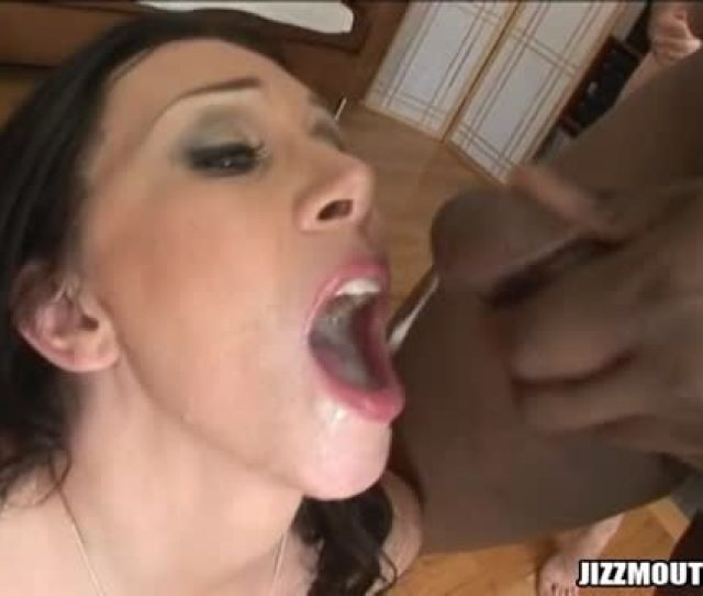 Six Loads Of Cum In Her Mouth