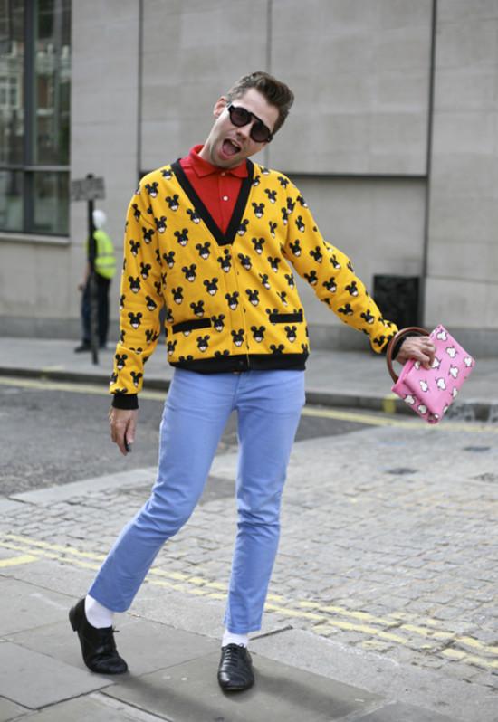 Jonny Makeup Jeremy Scott London Street Fashion