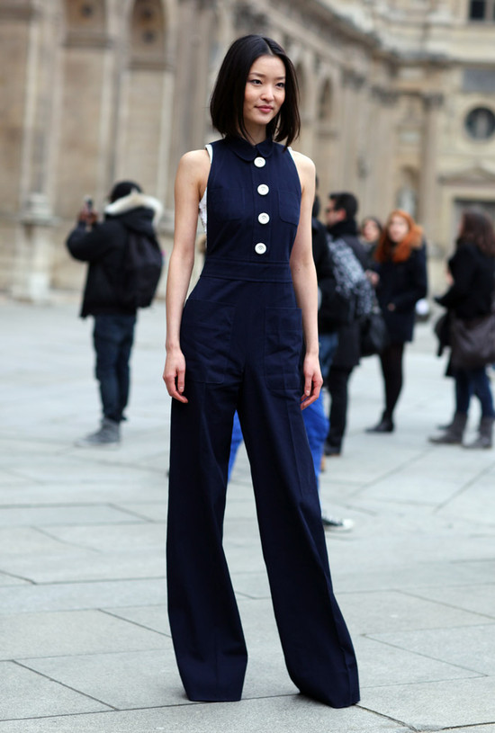 Sleeveless Jumpsuit Street Fashion Street Peeper