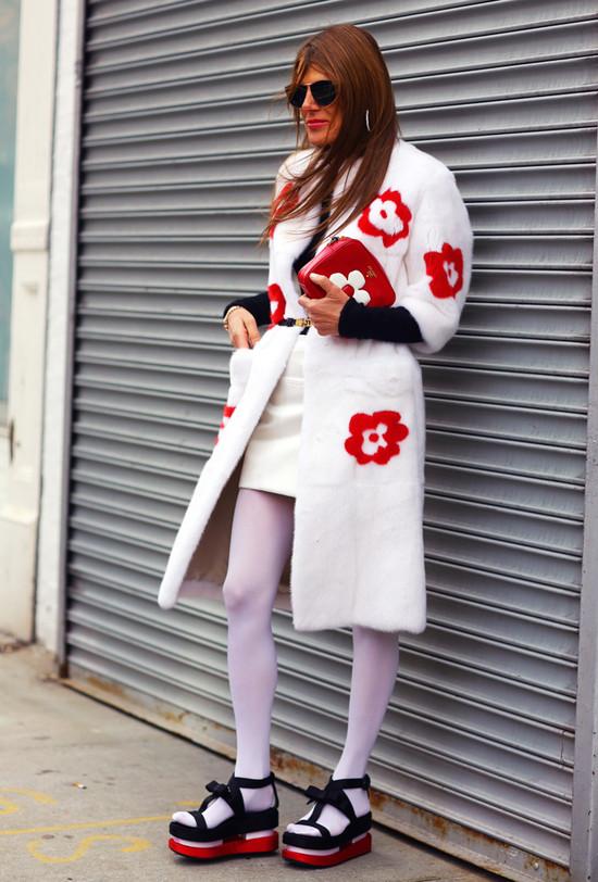 Anna Dello Russo's Full Prada Look