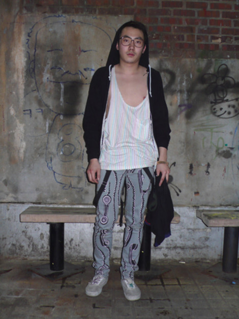 Justin Wolf American Apparel Staff SEOUL Street Fashion